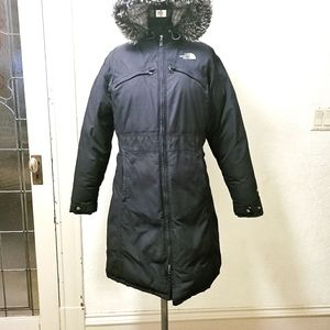 The North Face woman's Parka, size med